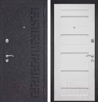 Входная дверь Металюкс M23 R (96x205)