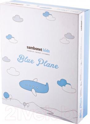Набор столовой посуды Sambonet Bimbo Blue Plane (7пр)