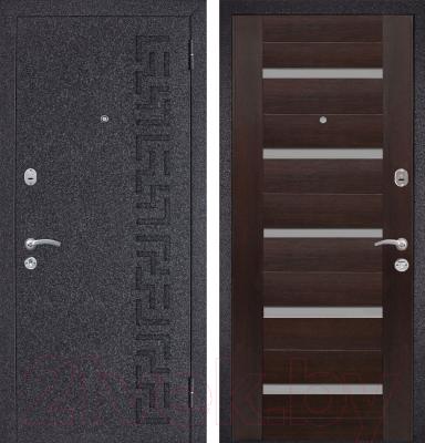 Входная дверь Металюкс M25 R (96x205)