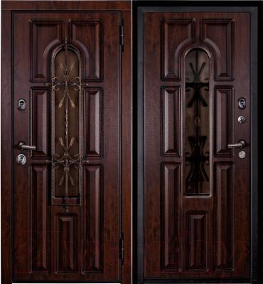 Входная дверь Металюкс M60 R (96x205)