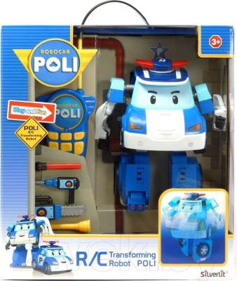Робот-трансформер Silverlit Robocar Poli (83185)