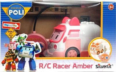 Радиоуправляемая игрушка Silverlit Robocar Amber (83188)