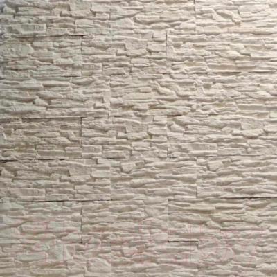 Декоративный камень Royal Legend Сланец белый 01-010 (360x85x10-15)