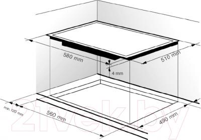 Электрическая варочная панель Zigmund Shtain CNS 229.60 BX