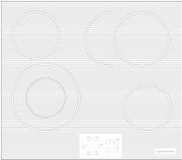 Электрическая варочная панель Zigmund & Shtain CNS 019.60 WX -