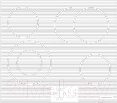 Электрическая варочная панель Zigmund & Shtain CNS 019.60 WX