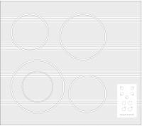 Электрическая варочная панель Zigmund & Shtain CNS 249.60 WX -