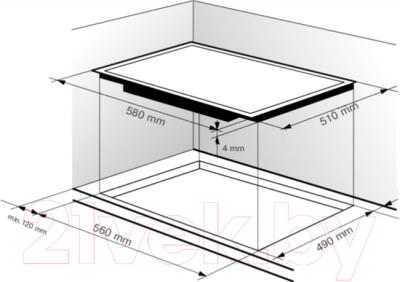 Электрическая варочная панель Zigmund & Shtain CNS 149.60 WX