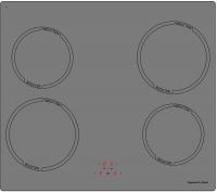 Индукционная варочная панель Zigmund & Shtain CIS 028.60 SX -
