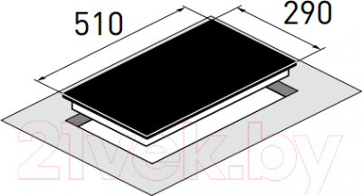 Индукционная варочная панель Zigmund & Shtain CIS 030.30 BX