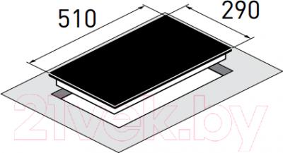 Индукционная варочная панель Zigmund Shtain CIS 030.30 WX