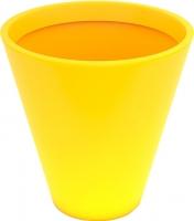 Вазон Pdconcept Mercury PL-ME60 (желтый) -