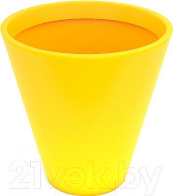 Вазон Pdconcept Mercury PL-ME60 (желтый)