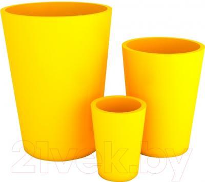 Вазон Pdconcept Uran PL-UR60 (желтый)