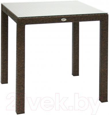 Стол садовый Garden4you Wicker 13349 (коричневый)