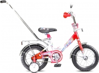 Детский велосипед Stels Magic 12 (красный/белый) -