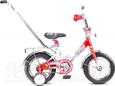 Детский велосипед Stels Magic 12 (красный/белый)