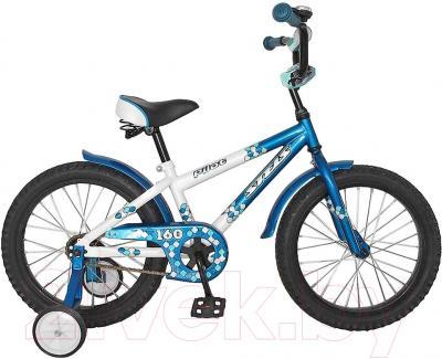 Детский велосипед Stels Pilot 160 (16, белый/голубой)