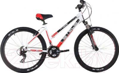 Велосипед Stels Miss 6000 V 2016 (15, белый/черный/красный)