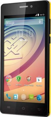 Смартфон Prestigio Wize K3 / PSP3519DUO (желтый)