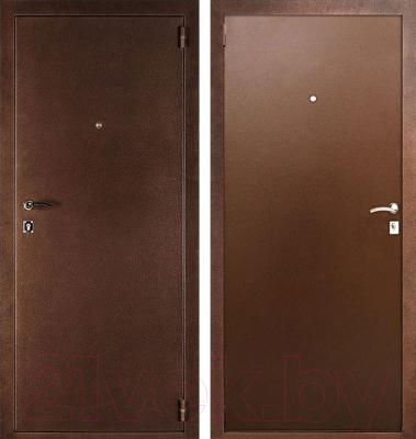 Входная дверь Дверной Континент Альфа (88x205, правая)