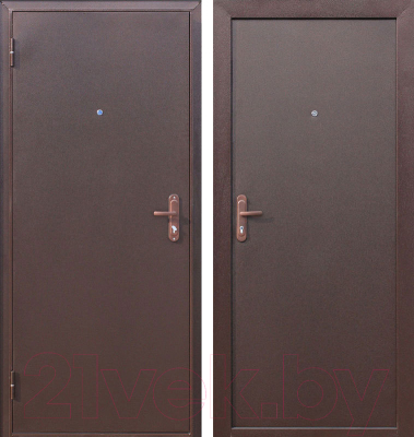 Входная дверь Дверной Континент Техно (88x205, левая)