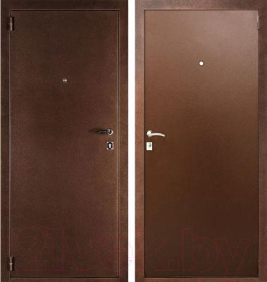 Входная дверь Дверной Континент Альфа (88x205, левая)