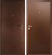 Входная дверь Дверной Континент Альфа (88x205, левая) -