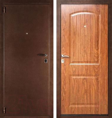 Входная дверь Дверной Континент Гамма/Классика (88x205, левая)