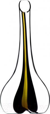Декантер Riedel Black Tie Smile Stripe Yellow