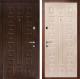 Входная дверь Дверной Континент Люкс (86x205, левая, белый дуб) -