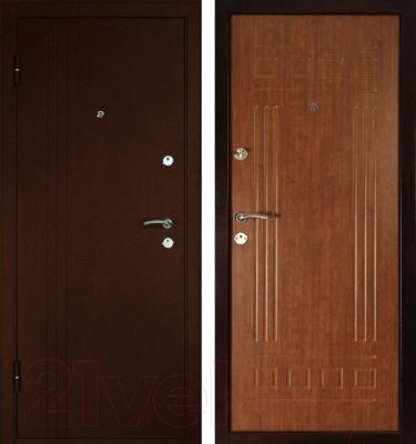 Входная дверь Дверной Континент Трио (86x205, левая)