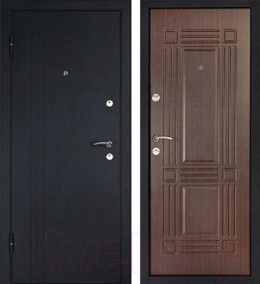 Входная дверь Дверной Континент Лайн (86x205, левая)
