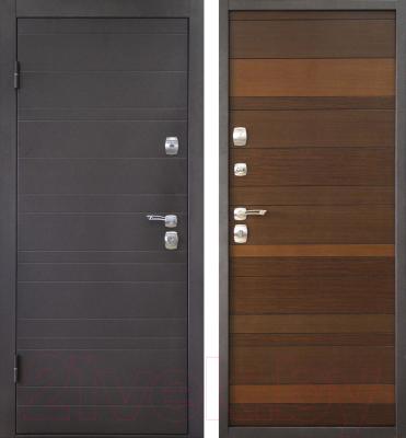 Входная дверь Дверной Континент Триумф (88x205, левая)
