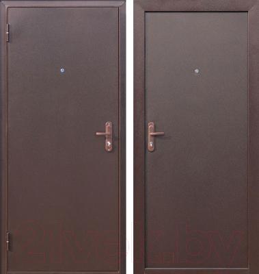 Входная дверь Дверной Континент Техно (98x205, левая)