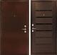 Входная дверь Дверной Континент Оптима С венге (96x205, левая) -