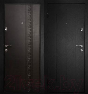 Входная дверь Дверной Континент Греция (96x205, левая)