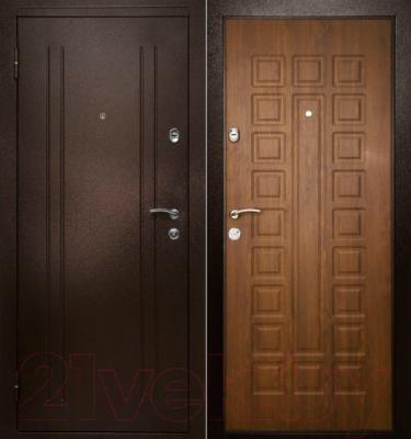 Входная дверь Дверной Континент Престиж (98x205, левая)