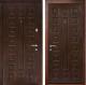 Входная дверь Дверной Континент Люкс (96x205, левая, венге) -