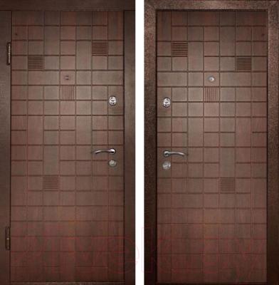 Входная дверь Дверной Континент Премиум (96x205, левая)