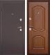 Входная дверь Дверной Континент Интерио (96x205, левая, темный орех) -