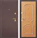 Входная дверь Дверной Континент Интерио (96x205, левая, светлый орех) -