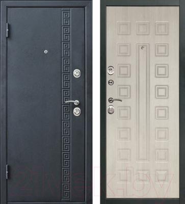 Входная дверь Дверной Континент Сити (96x205, левая)