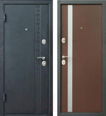 Входная дверь Дверной Континент Эллада (96x205, левая)