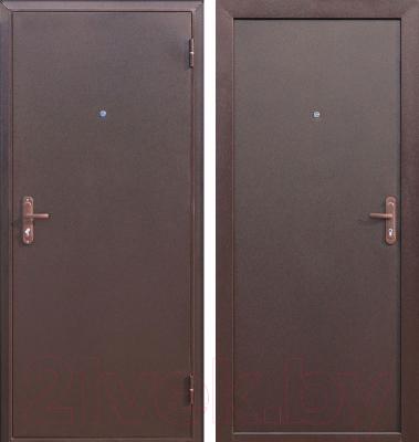 Входная дверь Дверной Континент Техно (98x205, правая)