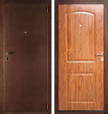 Входная дверь Дверной Континент Гамма/Классика (98x205, правая)
