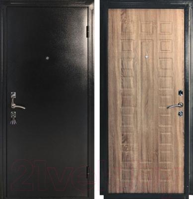 Входная дверь Дверной Континент Оптима (96x205, правая)