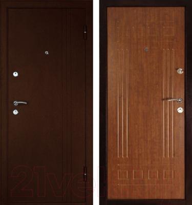 Входная дверь Дверной Континент Трио (96x205, правая)