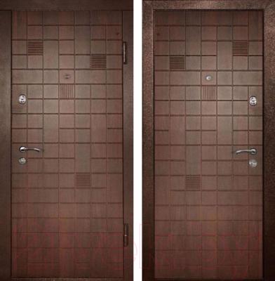 Входная дверь Дверной Континент Премиум (96x205, правая)