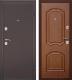 Входная дверь Дверной Континент Интерио (96x205, правая, темный орех) -